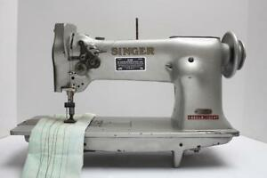 Singer 112w115 Two 2 Needle Feed 5 8 Gauge Industrial Sewing Machine Head Only