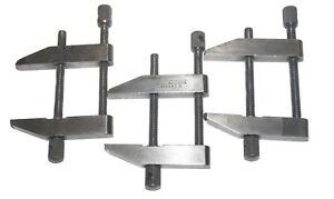 Starrett 161 c Clamp Set Of 3 Parallel Toolmakers Clamps Free Shipping