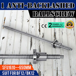 Anti backlashed Ballscrew Sfu1610 650 Rm1610 Cnc Set Ball Nut Machine Tool