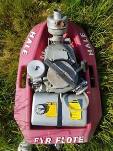 Hale Fyr Flote Portable Fire Pump Model 20fv c8