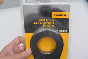 New Sealed Fluke 80i 600a 600 Amp Ac Current Transformer Meter Clamp