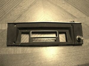 1968 Dodge Charger Radio Faceplate With Fader