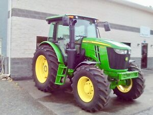 2016 John Deere 6120e Tractor Only 180 Hours