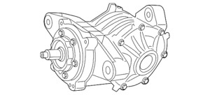 Genuine Mopar Differential Assembly 5157002ad