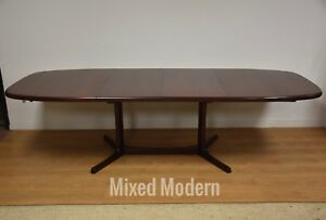 Rosewood Danish Dining Table Mid Century Modern Rasmus