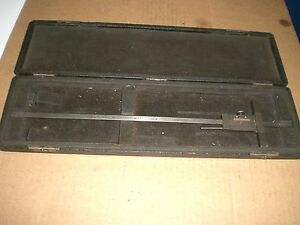 Vintage Brown And Sharpe 12 Vernier Depth Gage