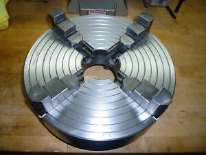 Pristine Skinner 12 Inch 4 Jaw Independent Lathe Chuck D1 8