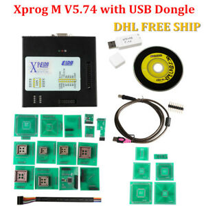 Xprog m V5 74 X prog Box Ecu Programmer With Usb Dongle Dhl Free Shipping