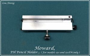 Howard Personalizer Hexagon Pencil Attachment Hot Foil Stamping Machine
