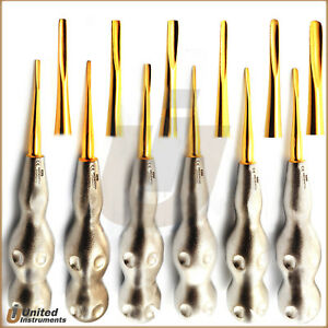 Dental Coupland Proximators Luxating Root Elevator Tooth Extraction Instrument