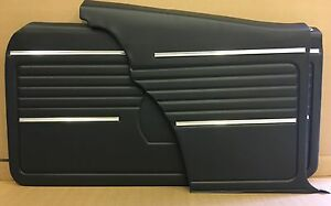 1968 Camaro Pui Platinum Front And Rears Set Interior Door Panels Assembled