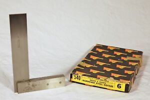 Brown Sharpe 540 6 Hardened Steel Square Precision Ground Made In Usa