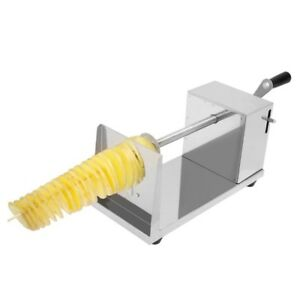 Twisted Spiral Potato Slicer French Fry Tornado Tower Fruit vegetable Cutter