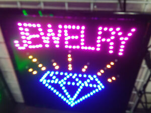 Jewelry Led Neon Sign for Business smoke Shop window Store Sign Display Sign