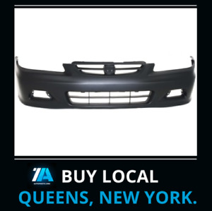 Ho1000195 New Front Bumper Cover Replace Fits 2001 2002 Honda Accord Coupe