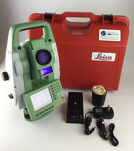 Leica Tcrp1205 R1000 5 Robotic Total Station Reconditioned Cs15 Rh15 Grz4