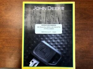John Deere 430 And 460 Loader Operator s Manual 124