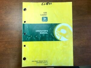 John Deere 640 Loader Operator s Manual 126