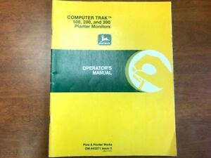 John Deere Computer Trak 100 200 And 300 Planter Monitor Operator s Manual 127