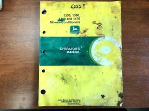 John Deere 1350 1360 1460 And 1470 Mower Conditioner Operator s Manual 138