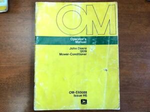 John Deere 1209 Mower Conditioner Operator s Manual 139