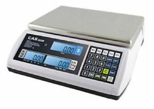 Cas S 2000 Jr Series Price Computing Scale Lcd Display 60lb