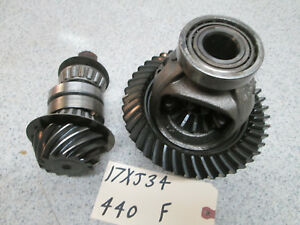 90 99 Jeep Cherokee Dana 30 Front Axle Carrier 3 07 Gear Set High Pinion Only Xj