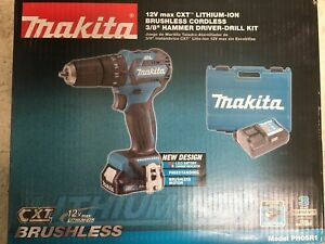 Makita Cxt Lithium ion Brushless Cordless Hammer Drill