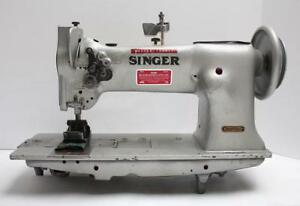 Singer 112w139 Walking Foot 2 needle 1 1 4 Gauge Industrial Sewing Machine Head
