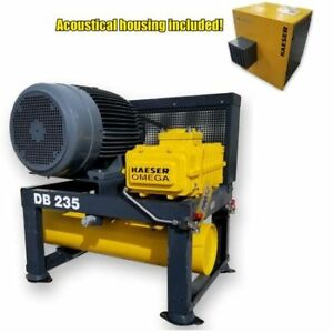 Used 40 Hp Kaeser Omega Positive Displacement Blower Package Db 235