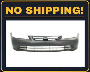 New Front Bumper Cover For Honda Accord Sedan 2001 2002