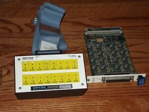 Optim Megadac Ad 816tc Thermocouple Card And Jp816tc Jack Panel