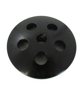 Sb Chevy Type Ii Power Steering Pump Pulley Only Swp Black Aluminum