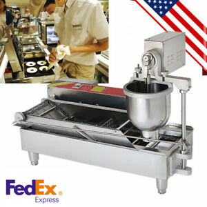 usa Stock Automatic Commercial Donut Fryer Maker Making Machine Donut Robot Ce