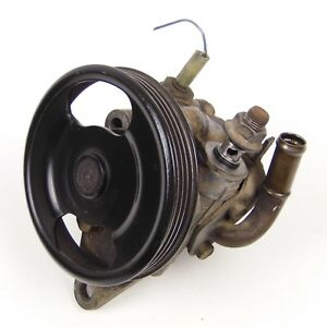 Genuine 89 94 Mazda 323 Familia Bg Power Steering Pump With Pulley P S