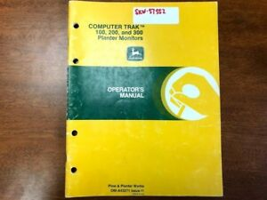 John Deere Computer Trak 100 200 And 300 Planter Monitor Operator s Manual 145