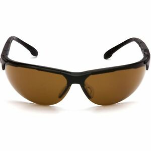 Pyramex Rendezvous Safety Glasses With Coffee Lens 12 Pcs