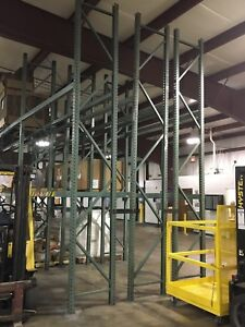 Tear Drop Pallet Rack Shelving
