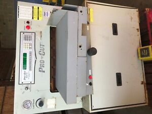 Pro Cut Paper Cutter Model 265 Spartan Used Working Cond