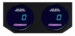 2 Single Digital Air Ride Gauges Display Panel No Switches Air Ride Suspension