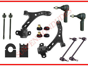 12pc Front Suspension Kit Track Bar Bushings 05 10 Ford Mustang Gt Convertible