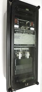 General Electric Ge 12cfvb11b1a Voltage Balance Relay 120vac 60hz