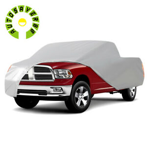 Truck Cover Fits 210 Inch Pickup Premium Waterproof Sun Uv Rain Heat Resistant