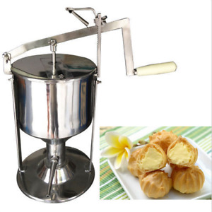 6l Manual Donut Filler Jelly Filling Cream Filled Machine Kitchen Tool Cooking