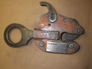 Renfroe Model Tl Vertical Lifting Clamp 1 2 Ton Cap Jaw Opening 0 5 8 Usa