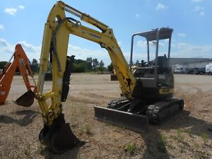 2008 Yanmar Vi035 5b Mini Excavator With Only 2404 Hours