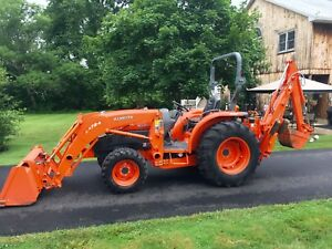 Kubota Grand L3940 Diesel Tractor 40hp 428hrs Hydro 4x4 Loader