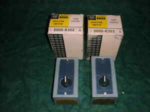 2 New Allen bradley 800s r3sx 3 Position Selector Switches 25734 d3
