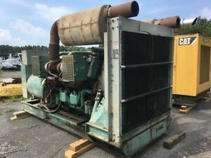 Used Detroit 12v149tt 830kw diesel Generator 1800rpm Complete And Run Tested