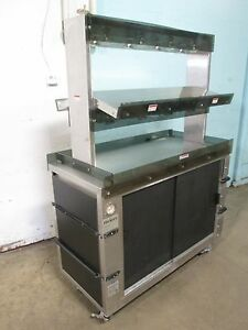 hickory Commercial Hd Heated Lighted Self serve Hot Food chicken Merchandiser
